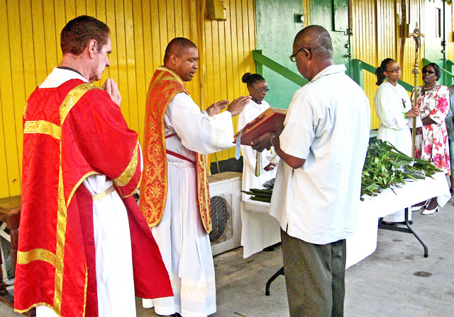 Blessing of the Palms